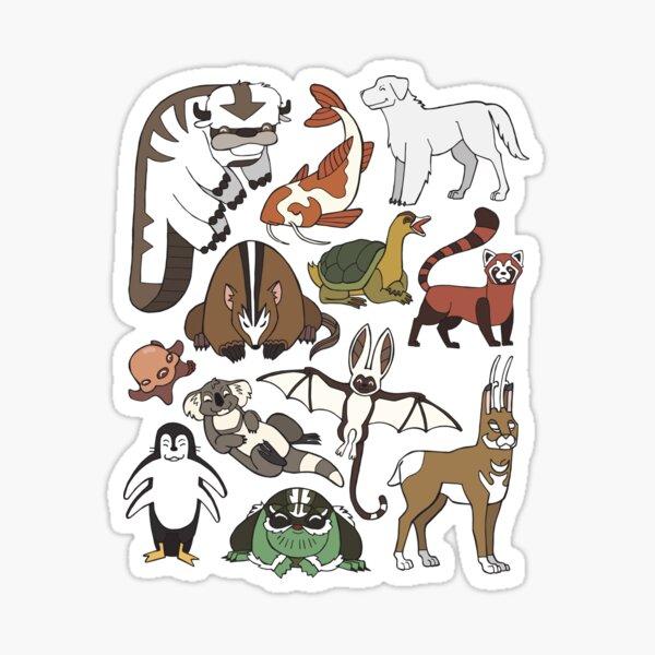 Avatar Menagerie Sticker