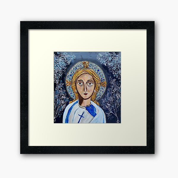 YOUNG MESSIAH Framed Art Print