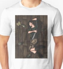 Passed Out Drunk- Elf Unisex T-Shirt