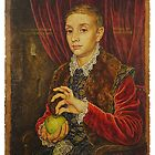 Boy With Apple by HGraceful