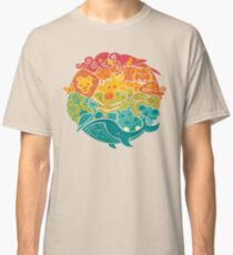 Animal Rainbow - cream Classic T-Shirt
