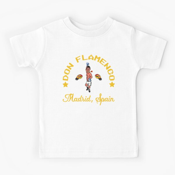Don Flamenco Mike Tyson's Punch-out!!! Kids T-Shirt