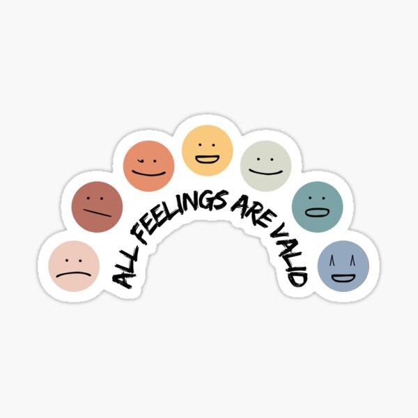 Feelings Wheel  Sticker