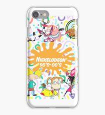 Nickalodeon 90s-00s iPhone Case/Skin