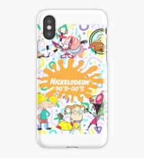 Nickalodeon 90s-00s iPhone Case/Skin
