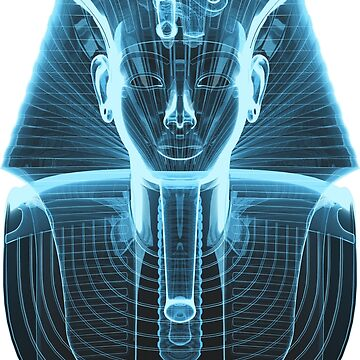 Tutankhamun 'King Tut' X-Ray Style by SC001
