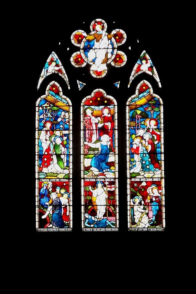 Llandrillo Chapel Window by BrainwaveArt