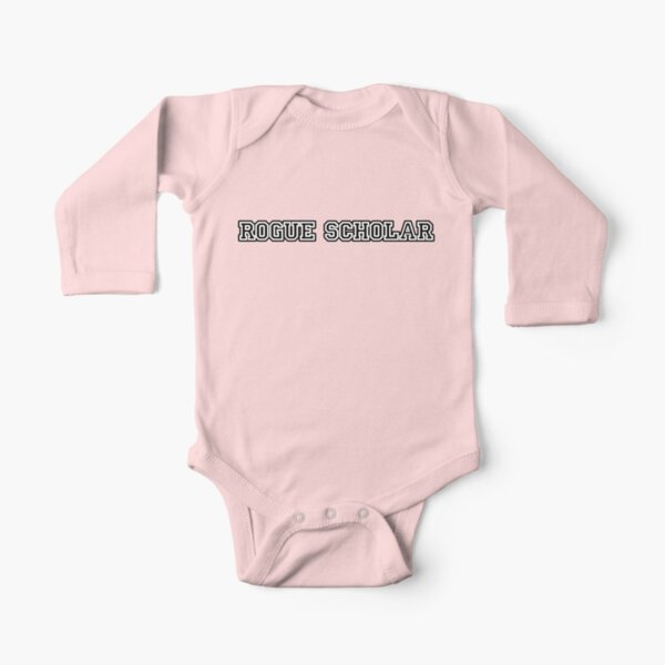 Rogue Scholar Long Sleeve Baby One-Piece