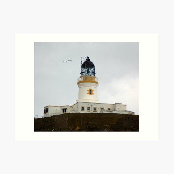 Muckle Flugga Lighthouse, Shetland Art Print