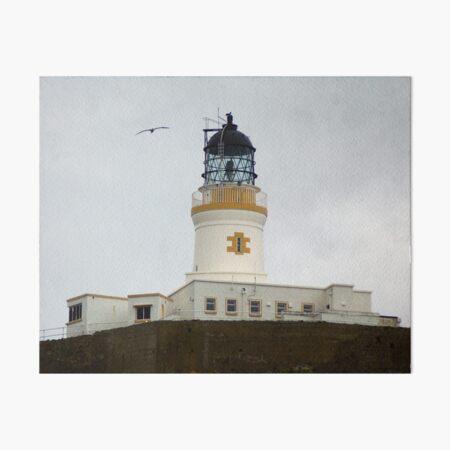 Muckle Flugga Lighthouse, Shetland Art Board Print