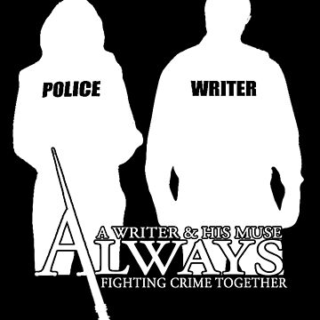 Castle ABC Always Writer & His Muse by castleskitkat