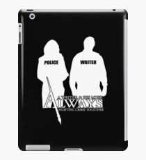 Castle ABC Always Writer & His Muse iPad Case/Skin