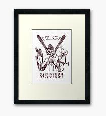 Silent Sports Framed Print