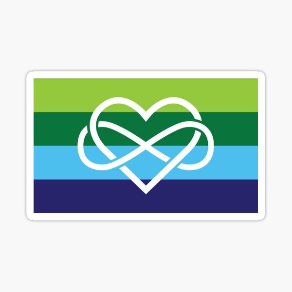 Inclusive Poly Pride Flag Sticker