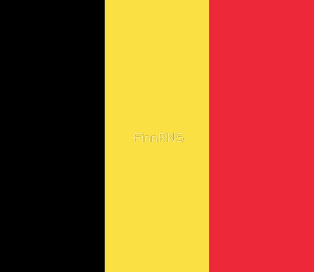 Belgium Flag by FinnRNS