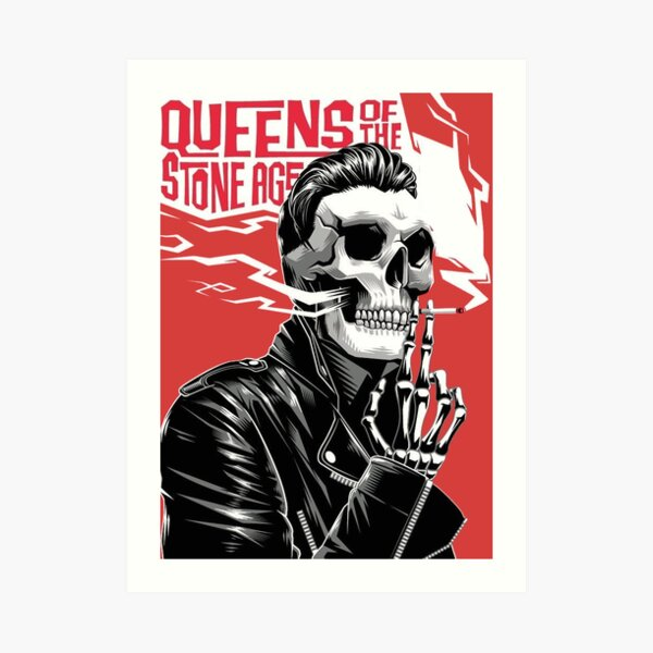 Queens of the stone age T-Shirts a song for the dead Poster qotsa Sticker Art Print