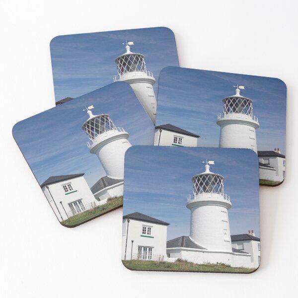 Caldey Island Lighthouse, Pembrokeshire Coasters (Set of 4)