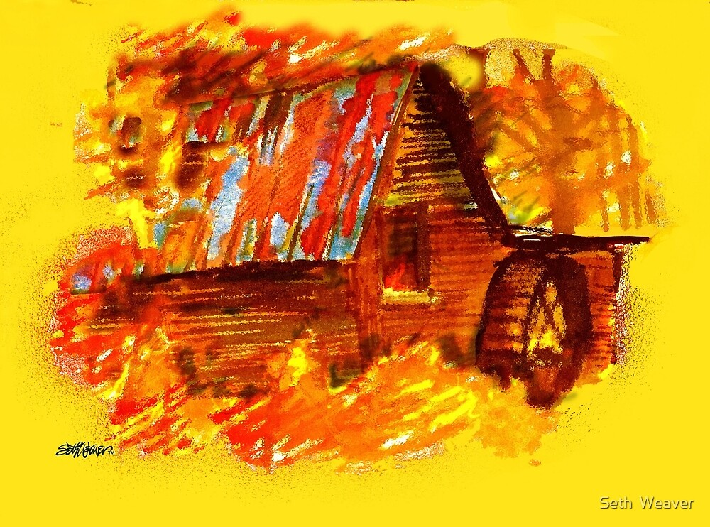 Fire at the Mill by Seth  Weaver