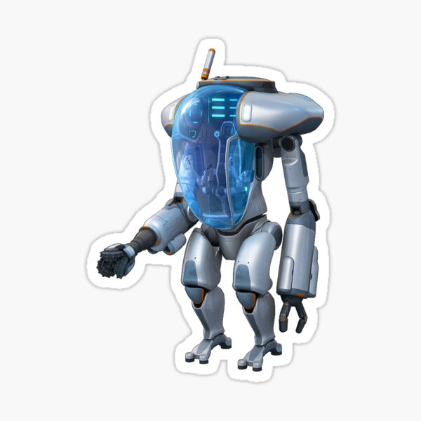 Exosuit Sticker