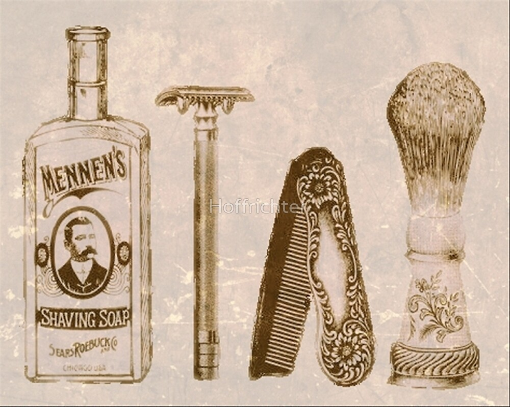 Old time shave by Hoffrichter