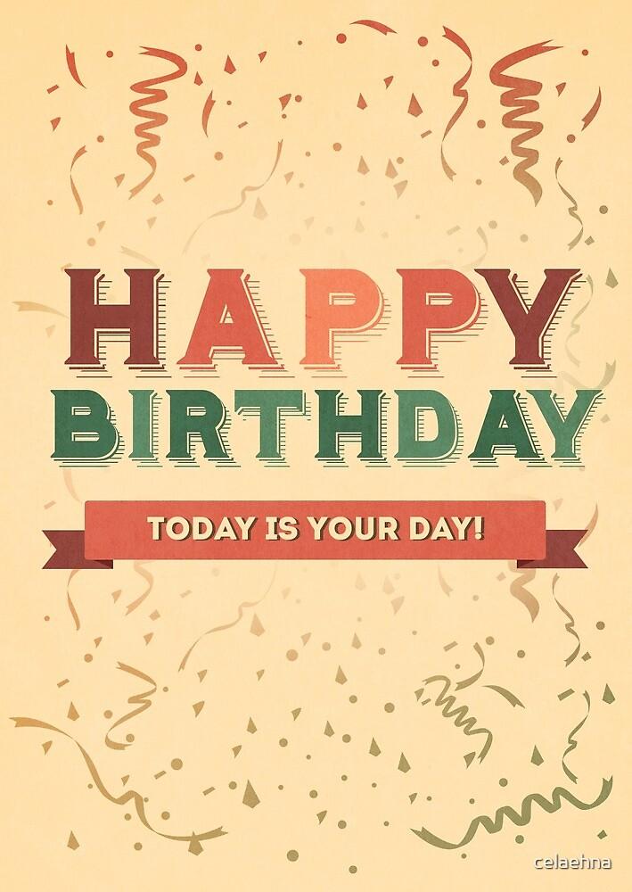 Happy Birthday by celaehna
