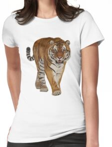 Tiger - After the Storm Womens Fitted T-Shirt