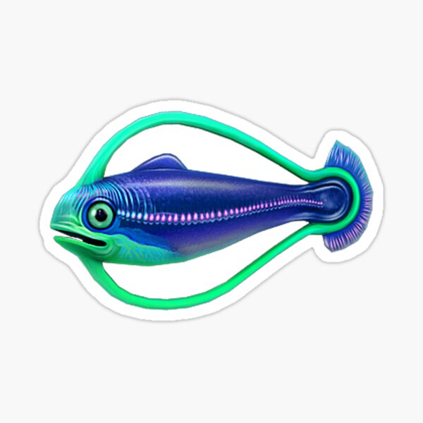 Hoop Fish Sticker