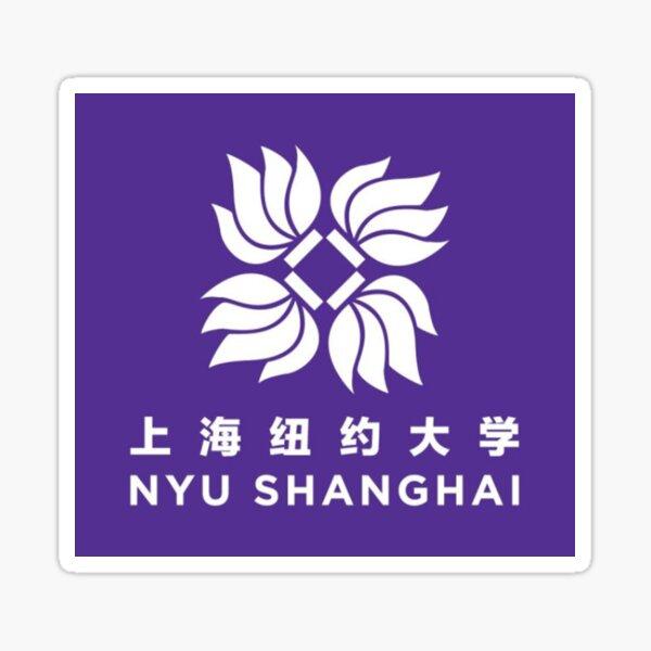 nyu shanghai Sticker
