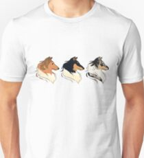 Rough Collies - All Colors Unisex T-Shirt
