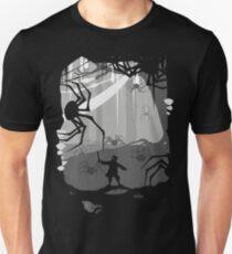 Camiseta ajustada El pequeño Limbit y las arañas