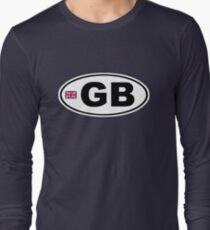 GB - GREAT BRITAIN - BUMPER STICKER T-Shirt