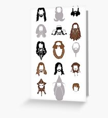The Bearded Company Greeting Card