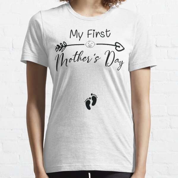 Trending Now Cute Mother T Shirt Gift From Husband Matching Shirts Christmas Baby Shower Gifts For Expecting New Mom To Be Women Her