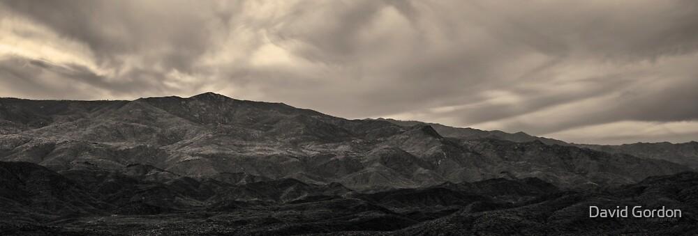 Sunset Point Arizona Panorama Toned by David Gordon