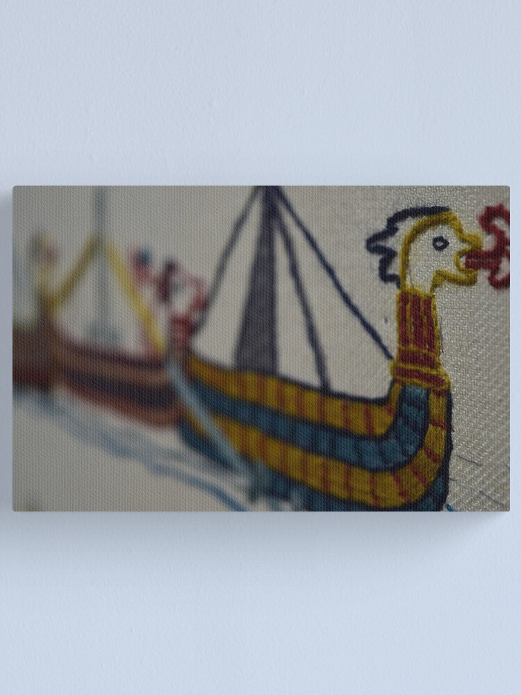 Alternate view of Viking ship Canvas Print