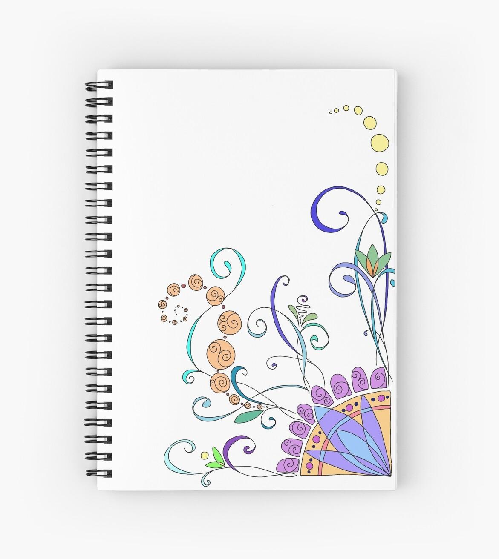 Colorful swirls by kellyalison