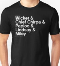 Ewok Party Ampersand Shirt Slim Fit T-Shirt