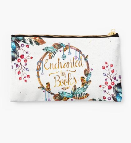 Enchanted by Books Studio Pouch
