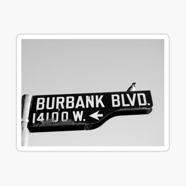 Burbank and Bird, Los Angeles, California Sticker