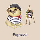 Pugcasso by Katie Corrigan