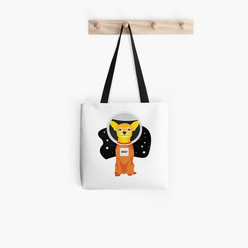 Orbit The Astronaut Tote Bag