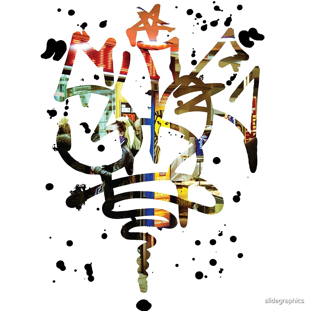 Slide Graffiti Tag - Colour by slidegraphics