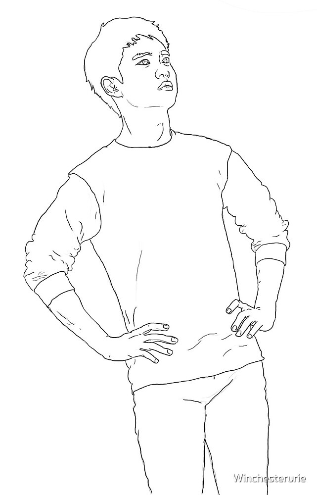 Full Body Kyungsoo by Winchesterurie