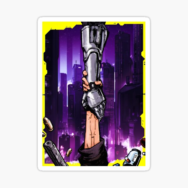 Cyberpunk Connections Sticker