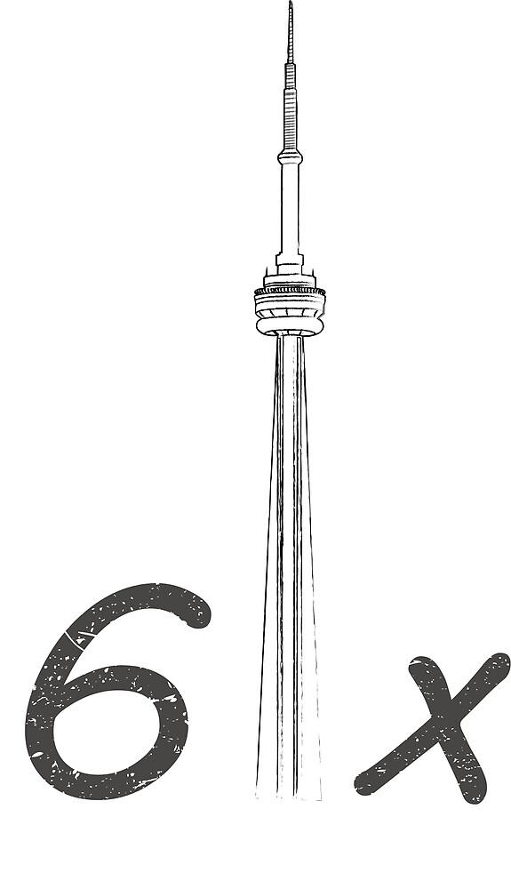 6ix CN Tower design by sydordesign