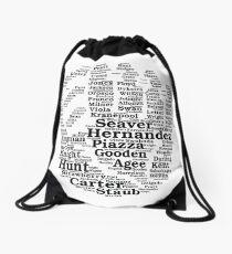 Mets Greats - Black Drawstring Bag