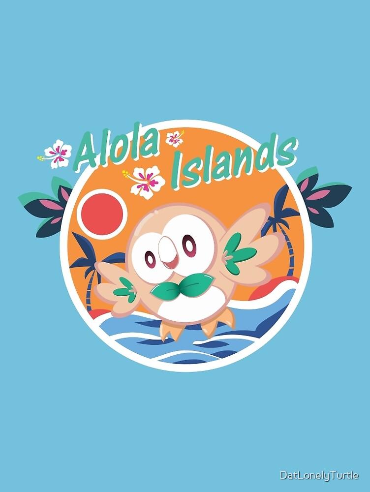 Alola Islands by DatLonelyTurtle