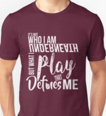 FunnyBONE What Defines Me T-Shirt