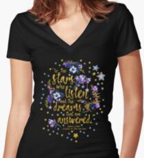ACOMAF - To the Stars Women's Fitted V-Neck T-Shirt