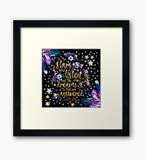 ACOMAF - To the Stars Framed Print